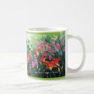 Orange Daylily Mug