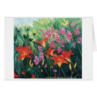 Orange Daylily  Note Card