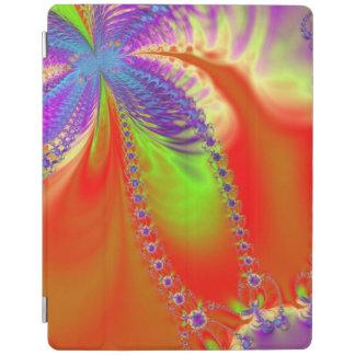 Orange Delight Fractal iPad Cover