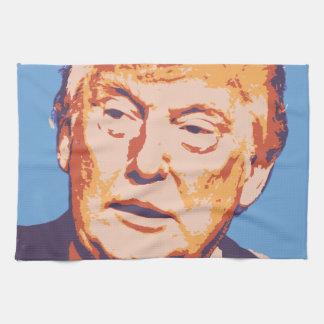 orange donald trump towel