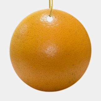 """orange"" DOUBLE SIDED ornament"