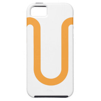 Orange Dripping Design Case For The iPhone 5