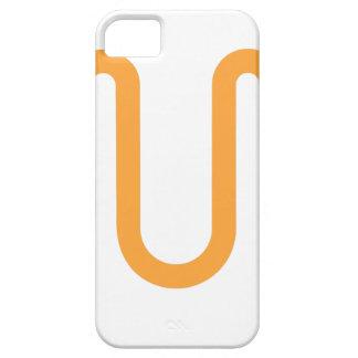 Orange Dripping Design iPhone 5 Covers