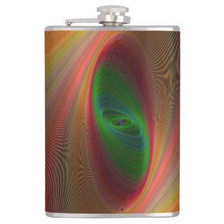 Orange ellipse galaxy flasks