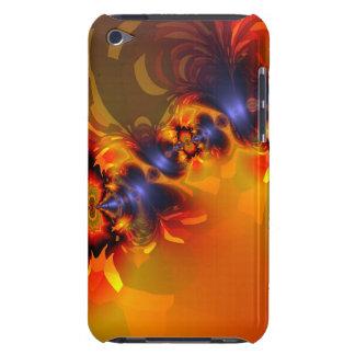 Orange Eyes Aglow – Gold & Violet Delight iPod Touch Case-Mate Case