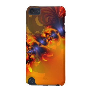 Orange Eyes Aglow – Gold & Violet Delight iPod Touch 5G Cover