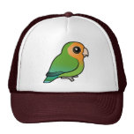 Orange-faced Peach-faced Lovebird Trucker Hat