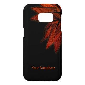 Orange Fern Personal Samsung Galaxy S7 Case