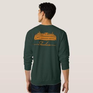 Orange Ferry Sweatshirt