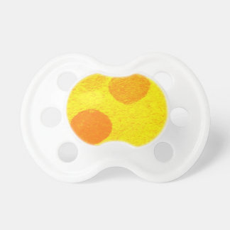 orange fish baby pacifier