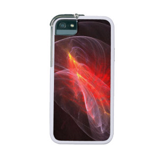 Orange Flame Halo Fractal Cover For iPhone 5/5S