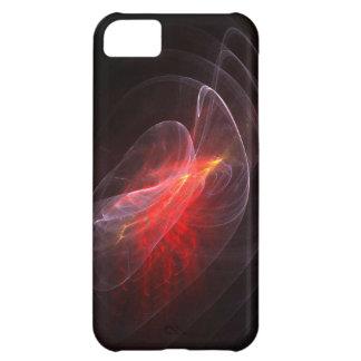 Orange Flame Halo Fractal iPhone 5 Case