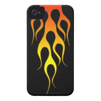 Orange Flame iPhone 4 Case
