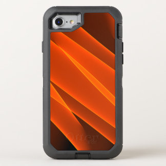 Orange Flames OtterBox Defender iPhone 8/7 Case