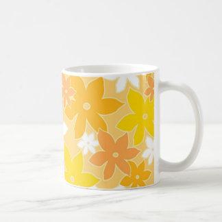 Orange florals - Mug