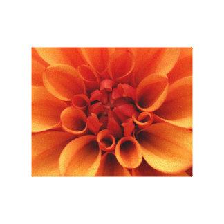 Orange Flower | Photo Design Canvas Print