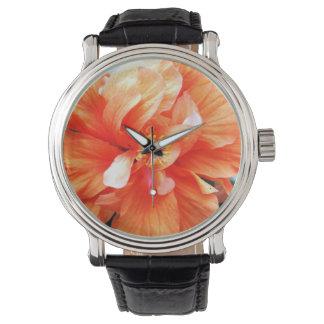 Orange Flower Wristwatches