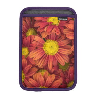 Orange Flowers iPad Mini Sleeves