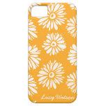 Orange Flowers iPhone 5 Case