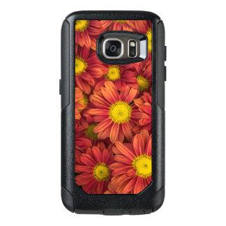 Orange Flowers OtterBox Samsung Galaxy S7 Case