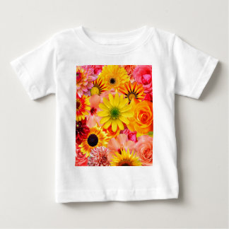 Orange flowers_ Sanchez Glory Baby T-Shirt