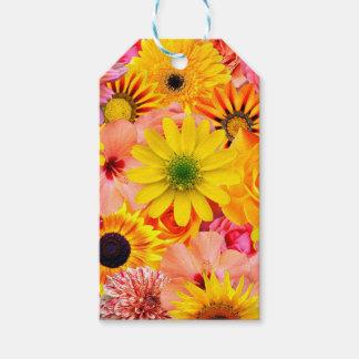 Orange flowers_ Sanchez Glory Gift Tags