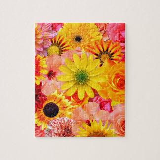 Orange flowers_ Sanchez Glory Jigsaw Puzzle