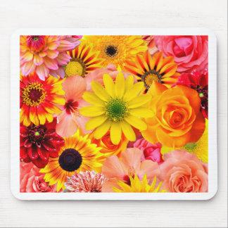Orange flowers_ Sanchez Glory Mouse Pad