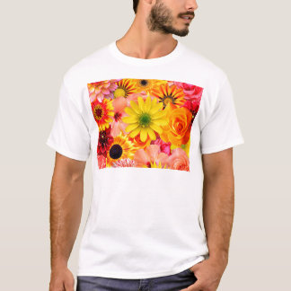 Orange flowers_ Sanchez Glory T-Shirt