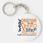 Orange For Hero 2 Best Friend MS Keychains