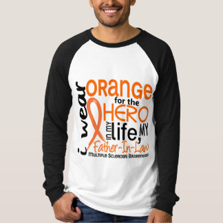 Orange For Hero 2 Father-In-Law MS Tshirt