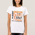 Orange For Hero 2 Husband MS Multiple Sclerosis T-Shirt