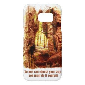 Orange Forest Samsung Galaxy S7 Case