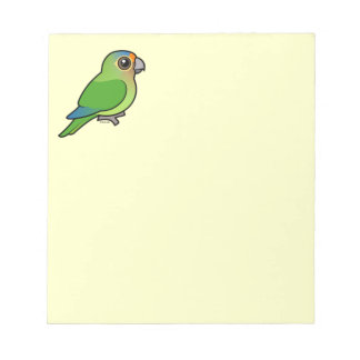 Orange-fronted Parakeet Notepad