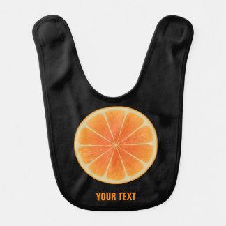 Orange Fruit Bib