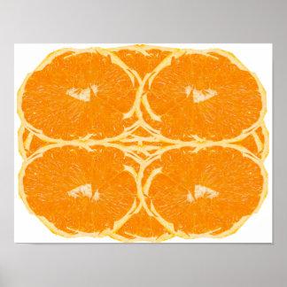 Orange Fruit Spirit Aesthetics Fine Art Poster