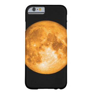 orange full moon barely there iPhone 6 case