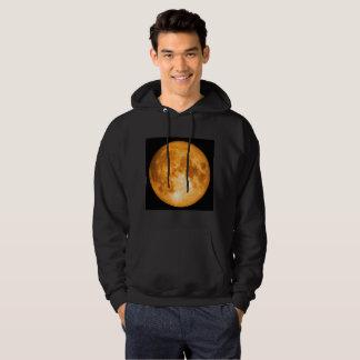 orange full moon hoodie
