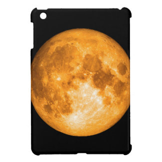 orange full moon iPad mini cover