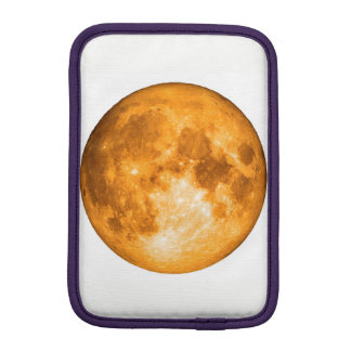 orange full moon iPad mini sleeve