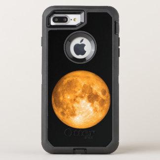 orange full moon OtterBox defender iPhone 8 plus/7 plus case