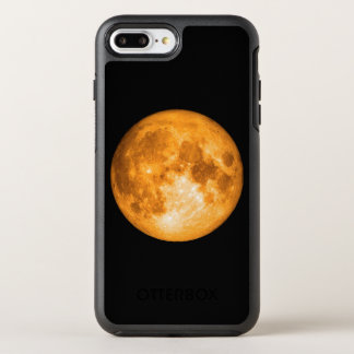 orange full moon OtterBox symmetry iPhone 8 plus/7 plus case