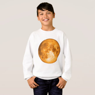 orange full moon sweatshirt