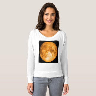 orange full moon t-shirt