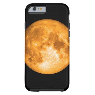 orange full moon tough iPhone 6 case