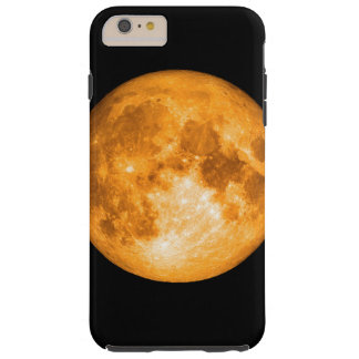 orange full moon tough iPhone 6 plus case