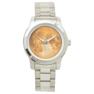 orange full moon watch