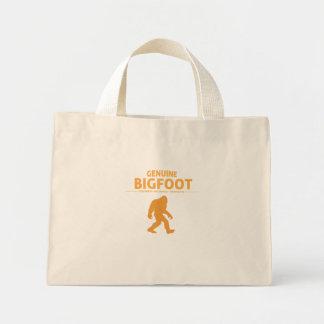 Orange Genuine Bigfoot Canvas Bag