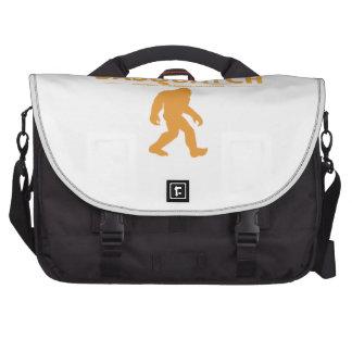 Orange Genuine Sasquatch Laptop Messenger Bag