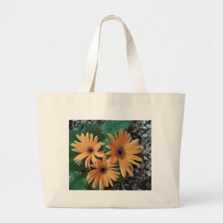 Orange Gerber Daisy Bag